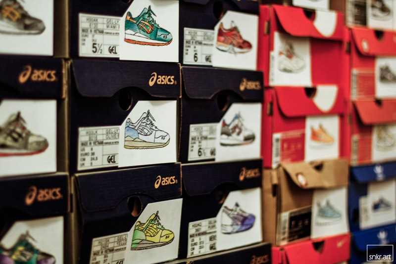 SHOEBOX - ART - SNKRART -