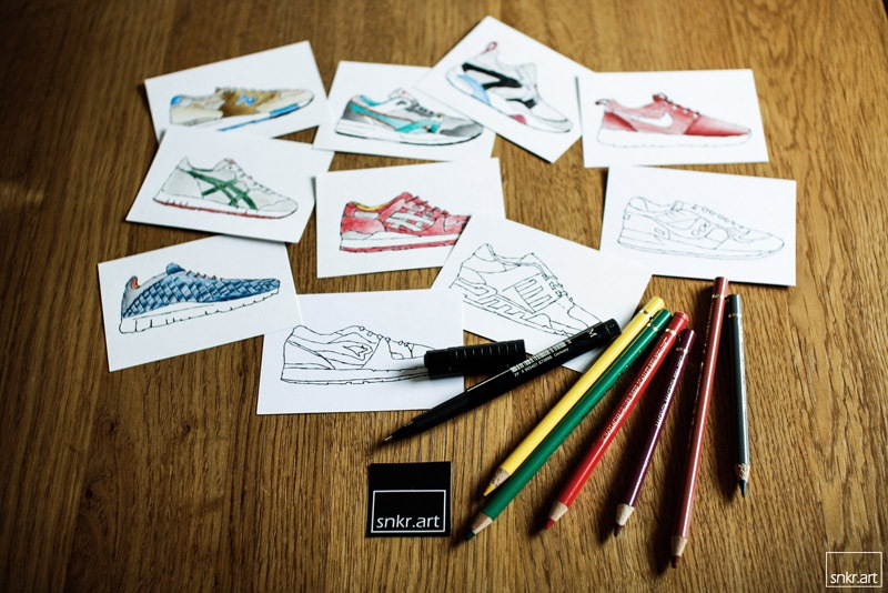 SHOEBOX - ART - SNKRART - 1