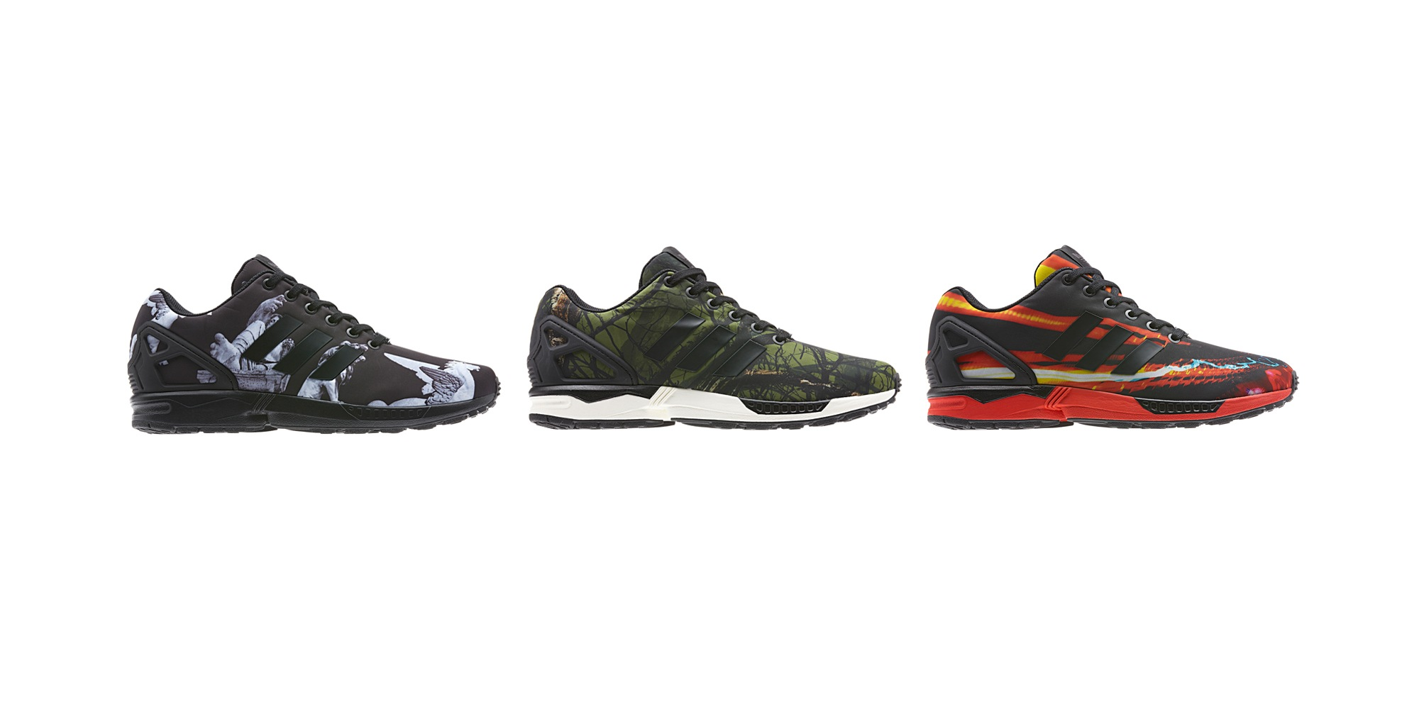 adidas ZX Flux Winter Print Pack Releaseinfos | Dead Stock