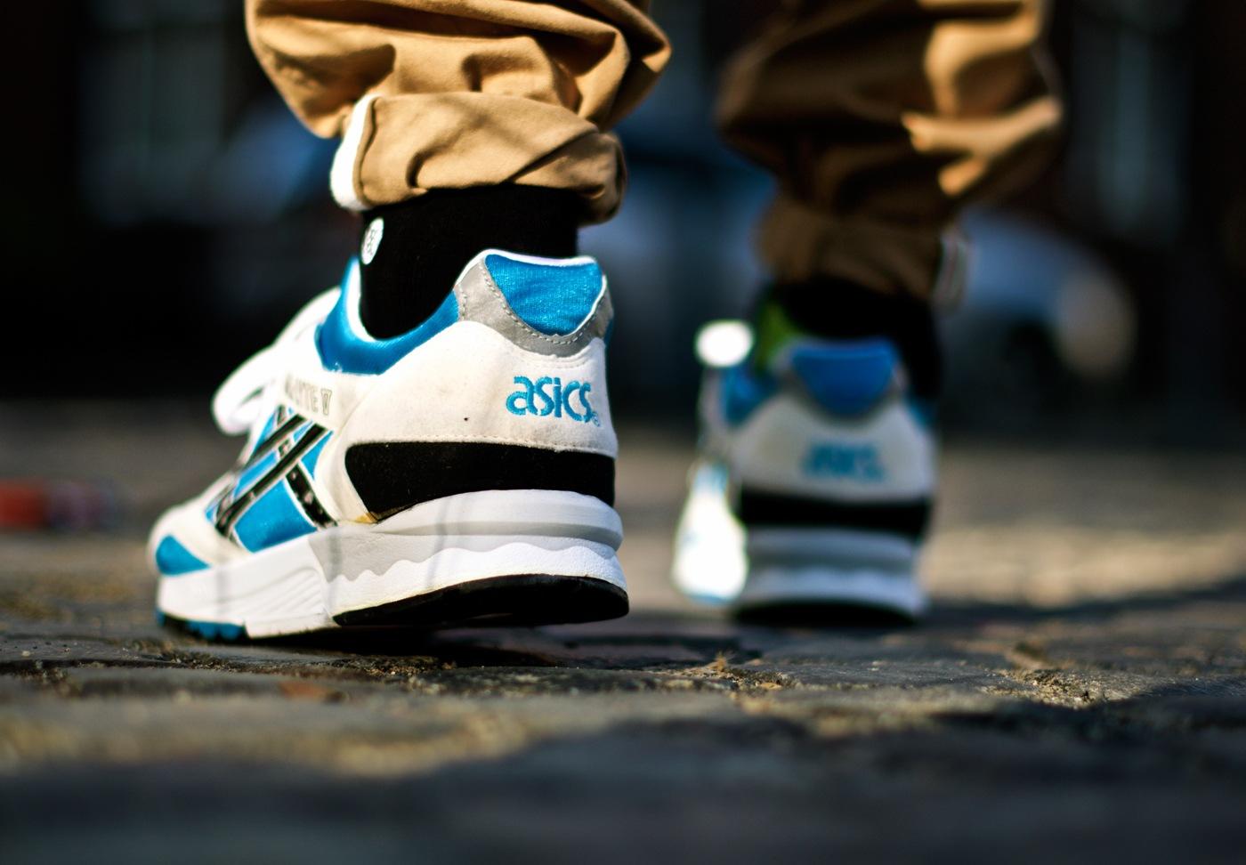 Asics Gel Lyte V Og On Feet Dead Stock Sneakerblog
