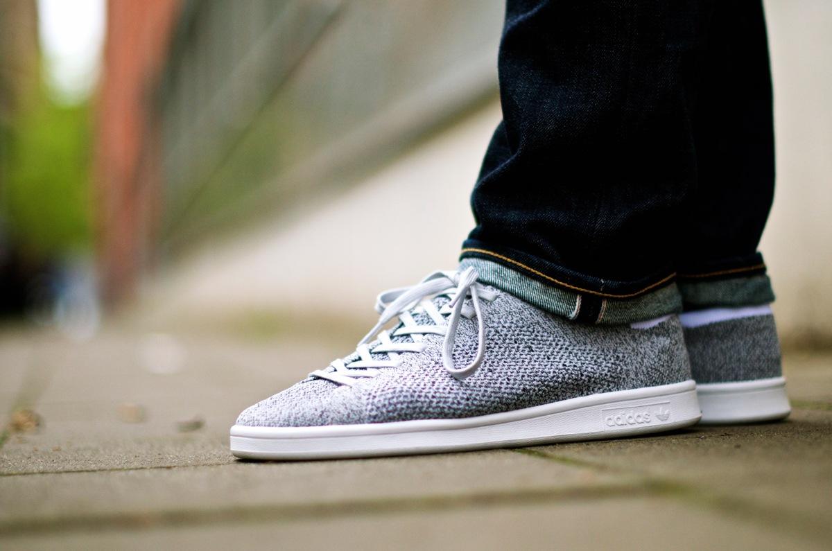 Adidas Stan Smith Primeknit Grau