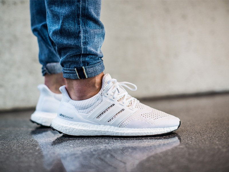 e0dbaee092d65 Adidas Ultra Boost On Feet White softwaretutor.co.uk