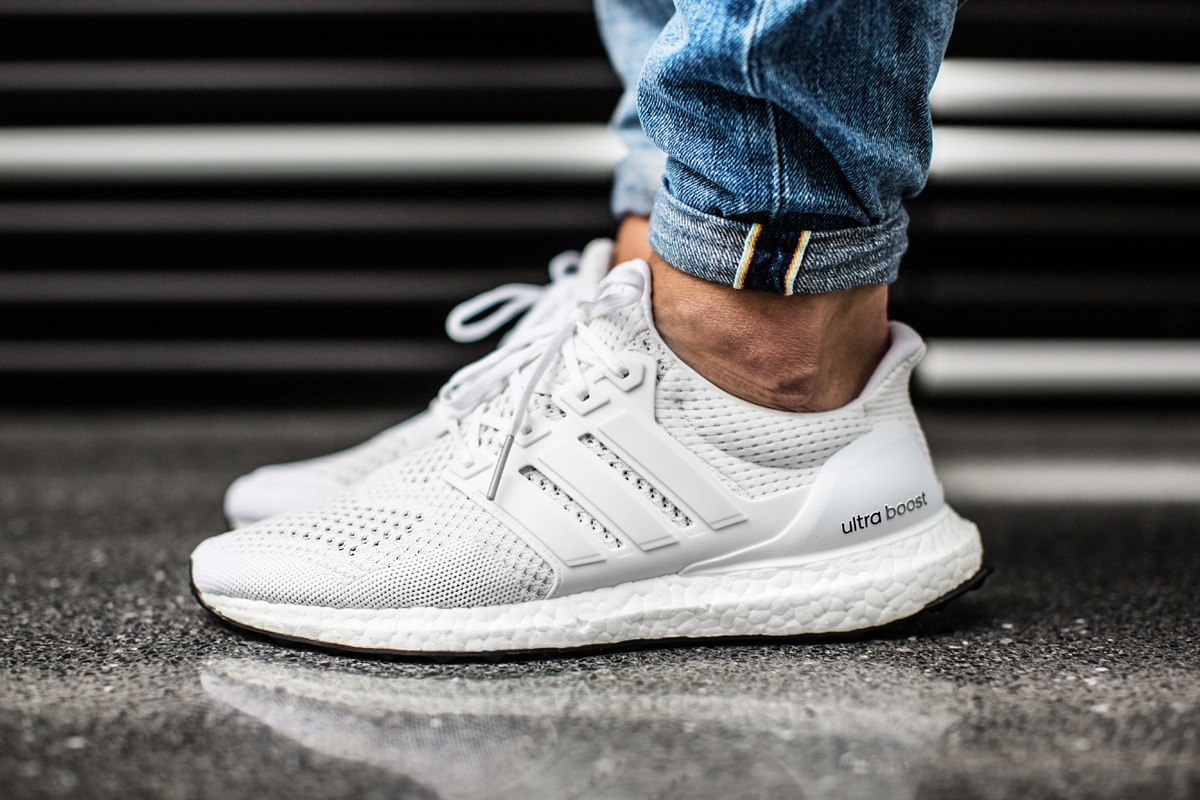Adidas Ultra Boost Mens All White