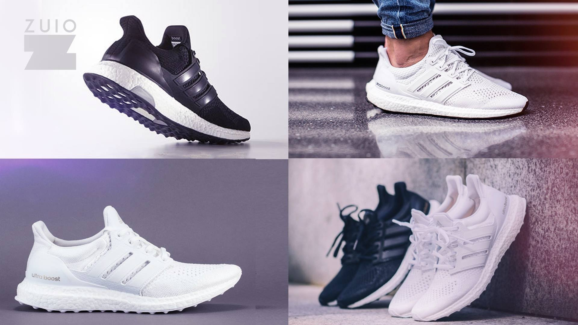 Adidas Ultra Boost 1.0 All White Key City Pack