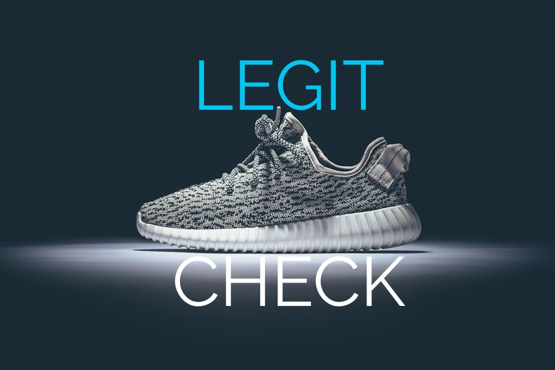 adidas yeezy legit check