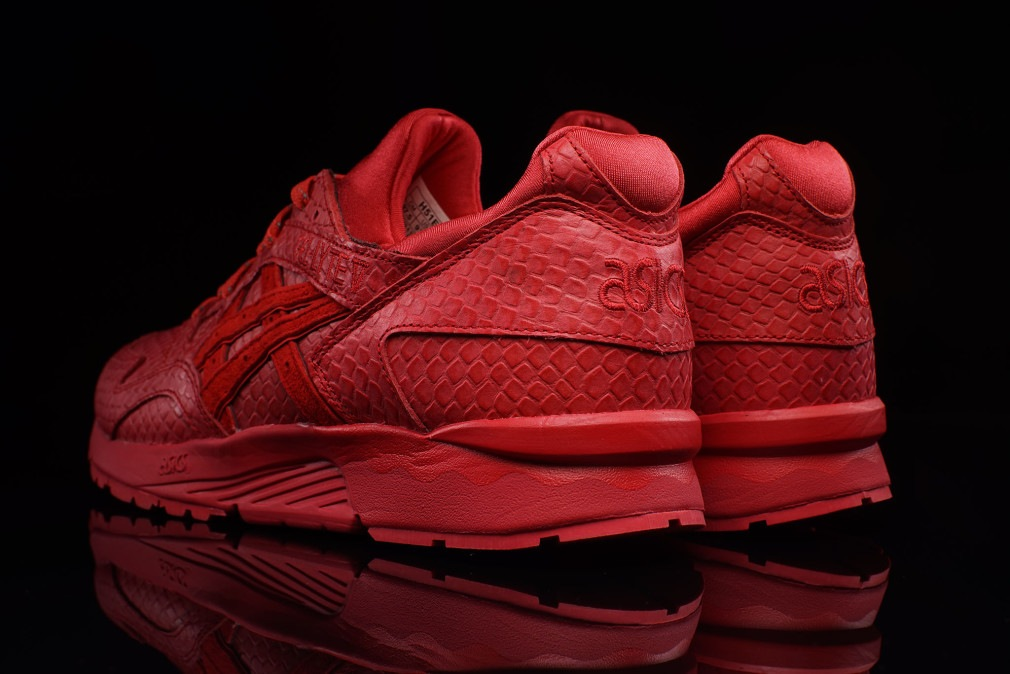 asics tiger gel lyte v red mamba coming soon dead stock sneakerblog. Black Bedroom Furniture Sets. Home Design Ideas