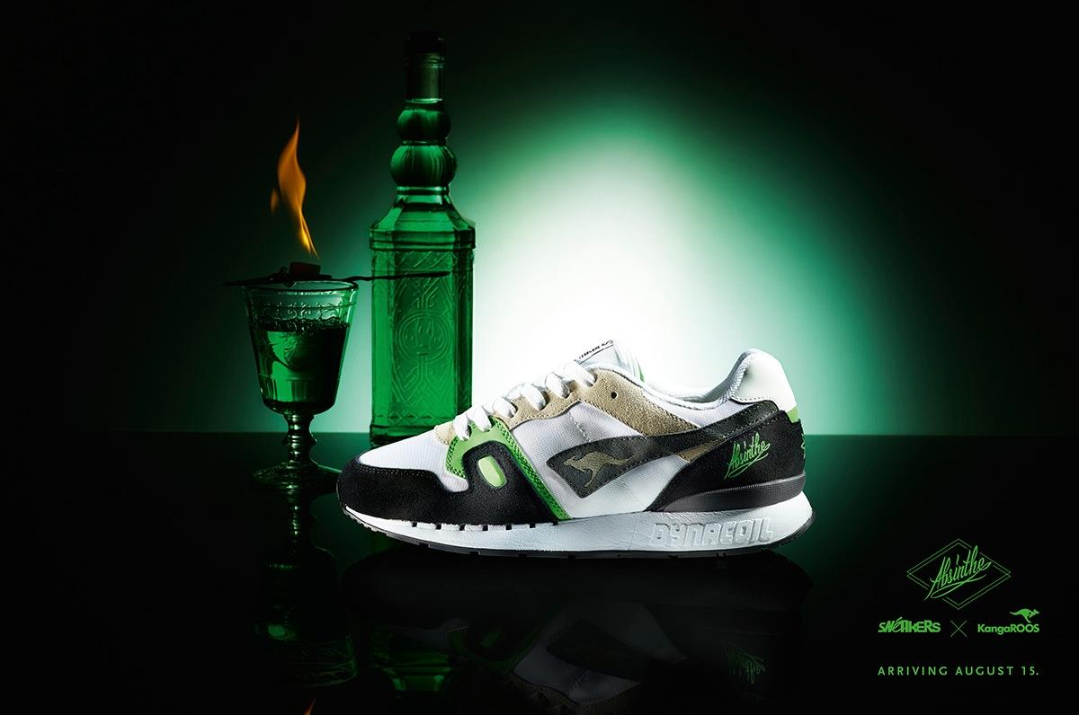 KangaROOS x Sneakers Mag Omnicoil II Absinthe