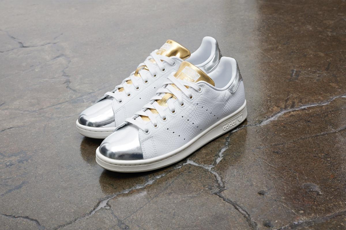 adidas Schuhe – Stan Smith J weißweißsilber