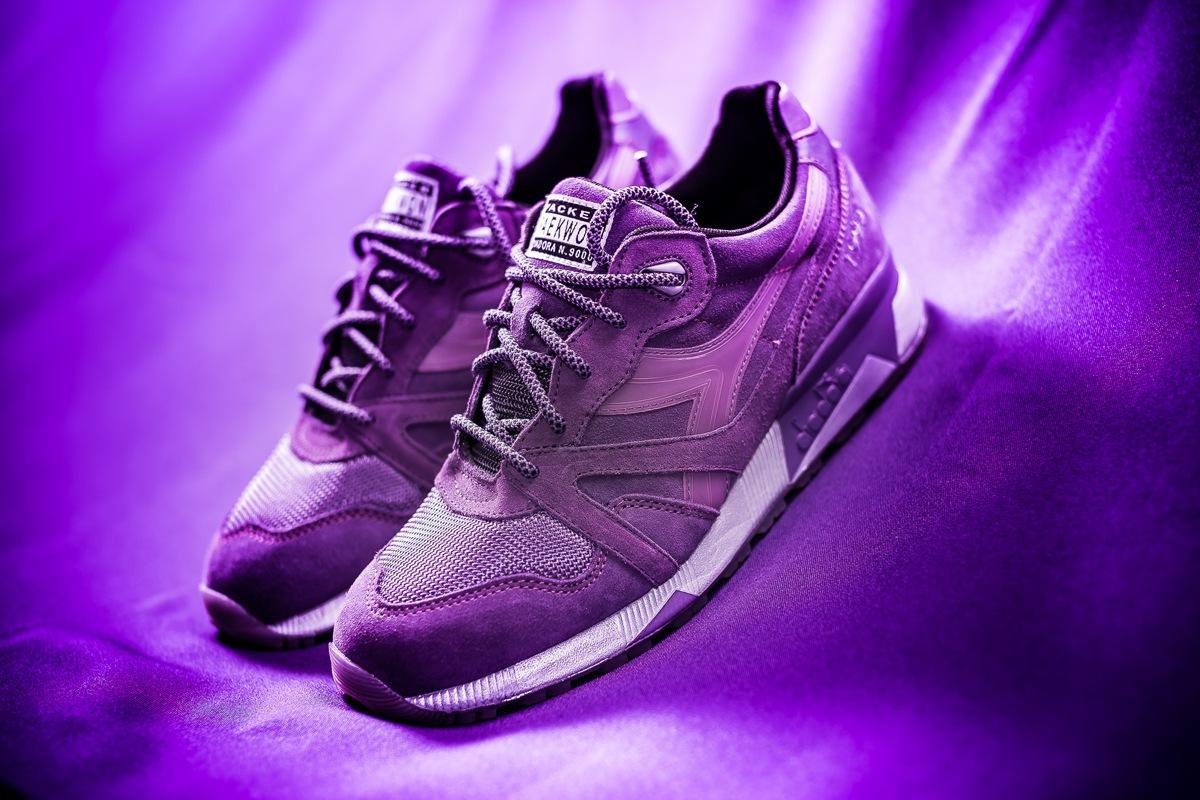 Packer Shoes x Raekwon x Diadora N.9000 Purple Tape