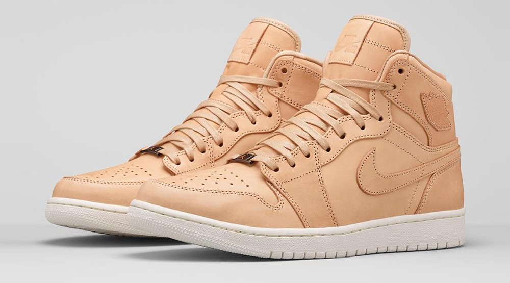 Nike Air Jordan I Pinnacle Vachetta Tan
