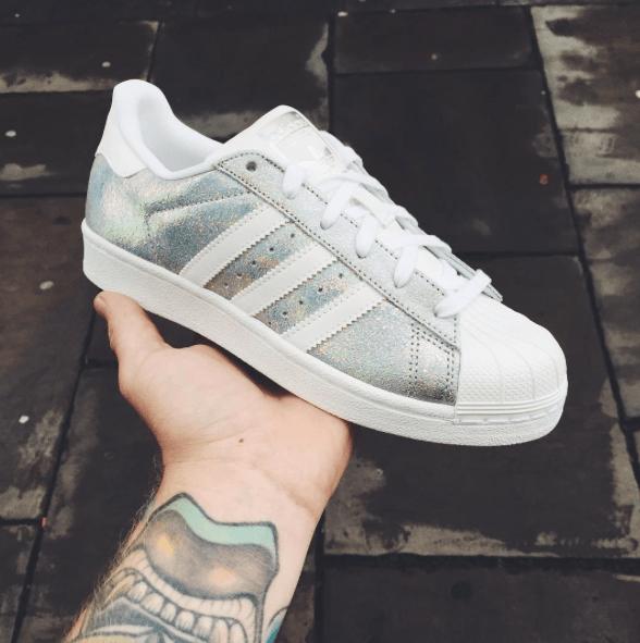 Adidas Originals Superstar Glitter Dead Stock Sneakerblog