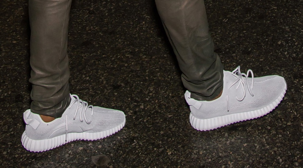 weiße adidas yeezys