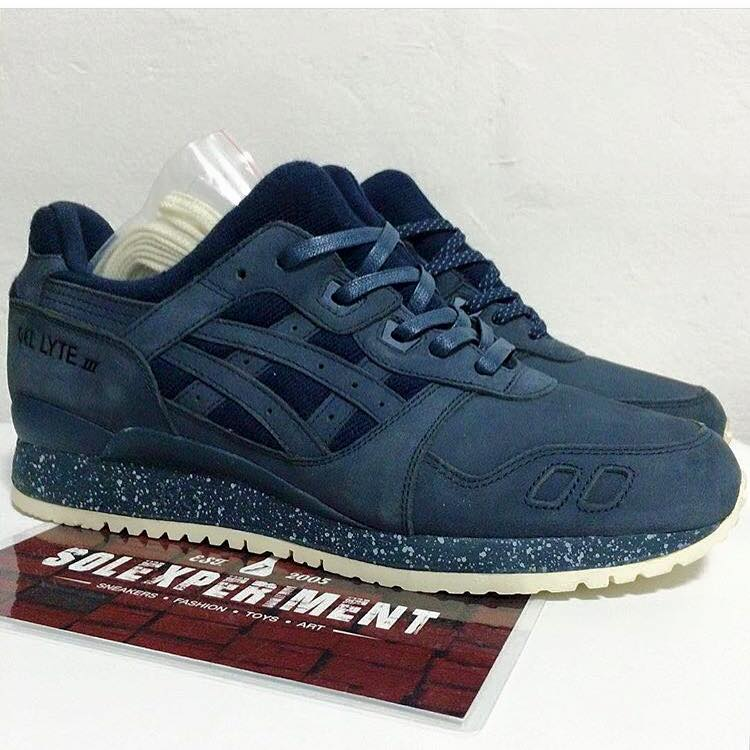 ASICS Tiger x Reigning Champ Gel Lyte III first look