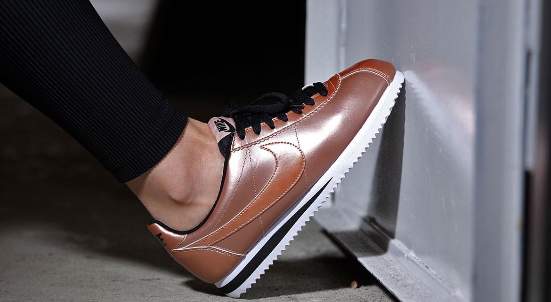 Nike Cortez Classic Leather Bronze