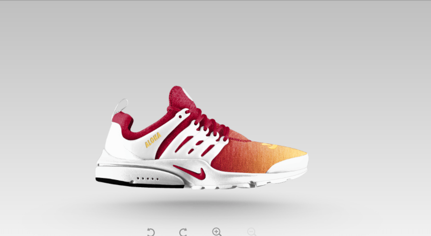 Nike Air Presto Weiß Rot