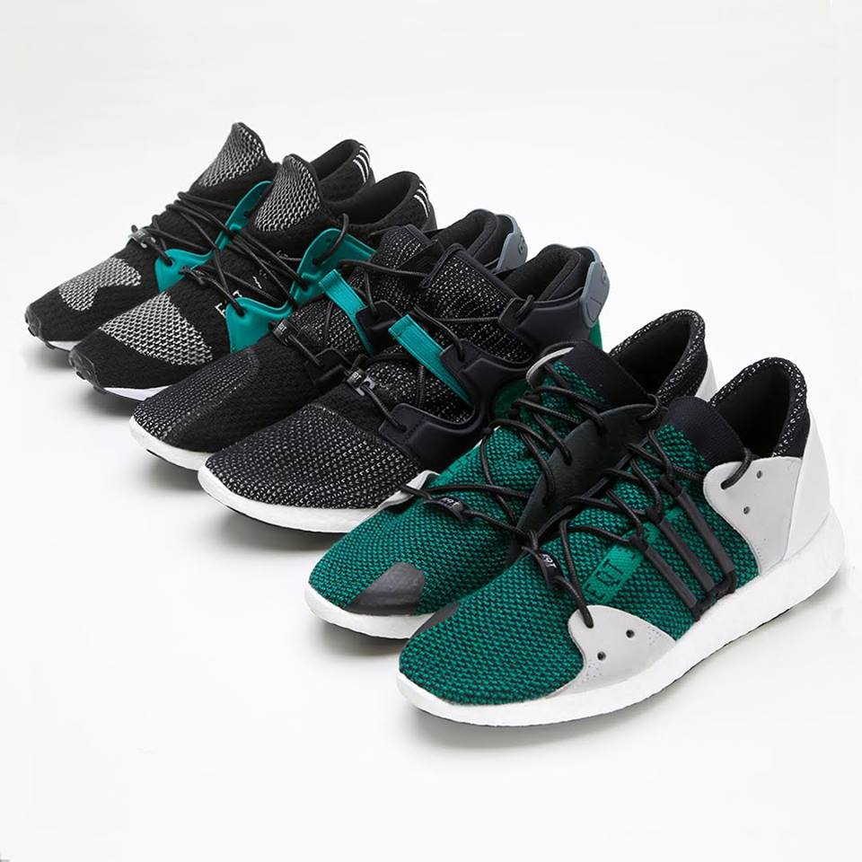 Vapour Green Highlights This adidas EQT Running Support 93