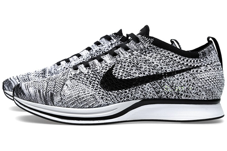 nike flyknit racer oreo 1 0 dead stock sneakerblog. Black Bedroom Furniture Sets. Home Design Ideas
