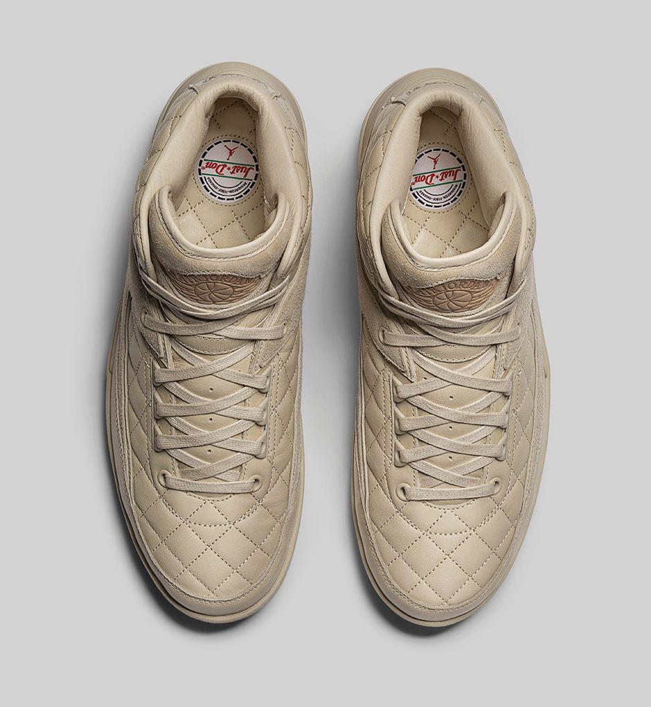 Nike Air Jordan 2 Elfenbeinweiß