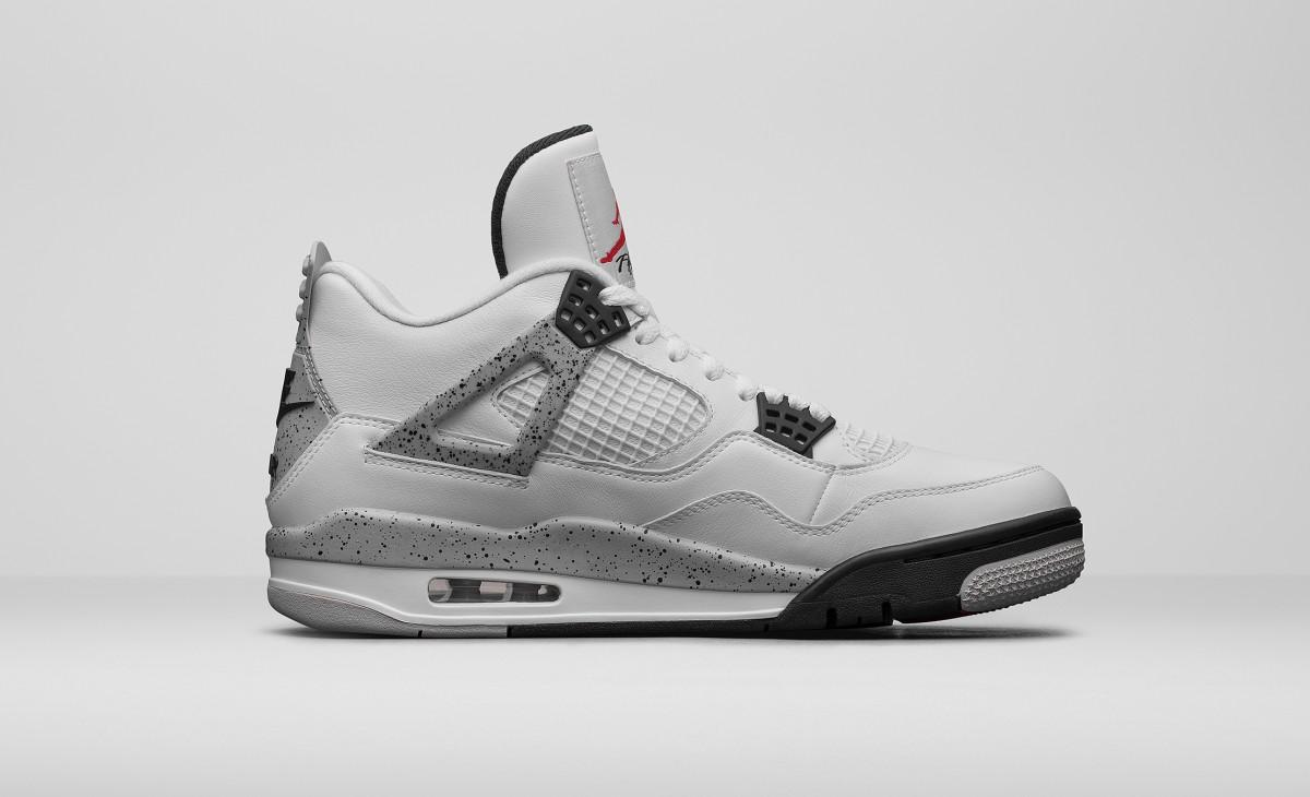 Nike Air Jordan 4 White Cement 2016