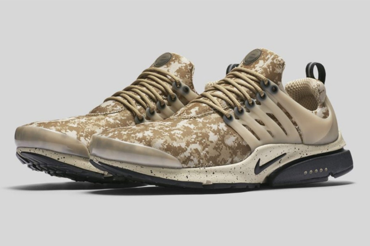 nike air presto digi camo dead stock sneakerblog. Black Bedroom Furniture Sets. Home Design Ideas