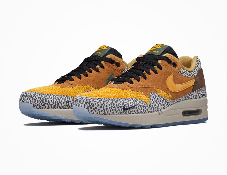 catch most popular best sneakers Nike Air Max 1 Safari x Atmos Re-Release   Alle Release ...