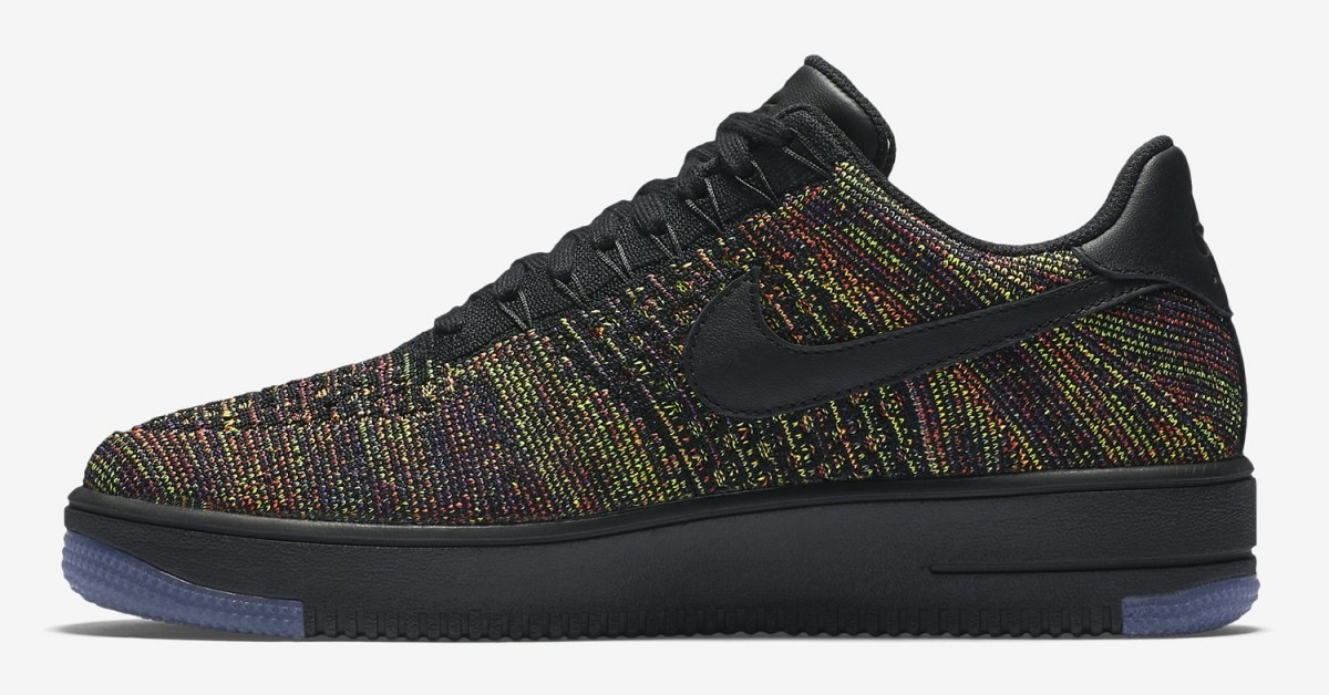 Air Force Flyknit Black
