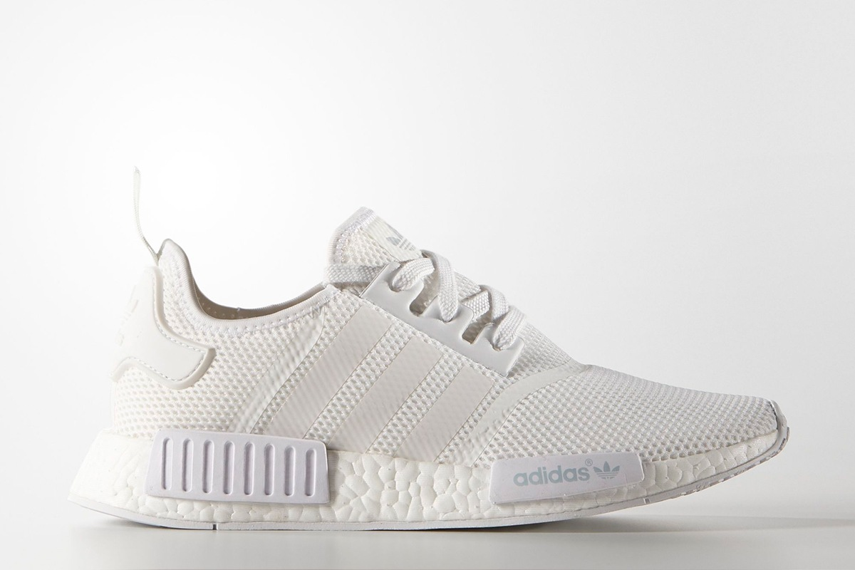 Adidas Nmd Runner All White
