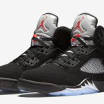 Nike Air Jordan V Metallic Silver