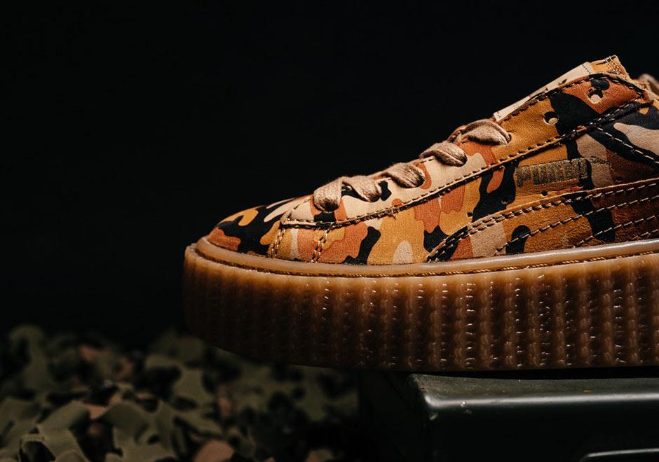 Puma Sneakers Rihanna Camouflage – NikeSaleOnline