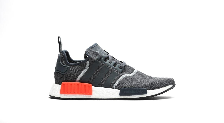 adidas nmd r1 dark grey dead stock sneakerblog. Black Bedroom Furniture Sets. Home Design Ideas