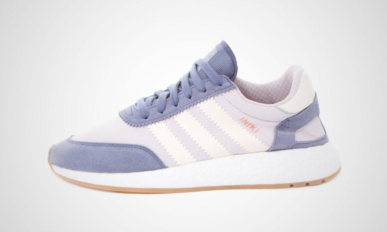 Adidas Damen Iniki Runner lila Boost BA9995