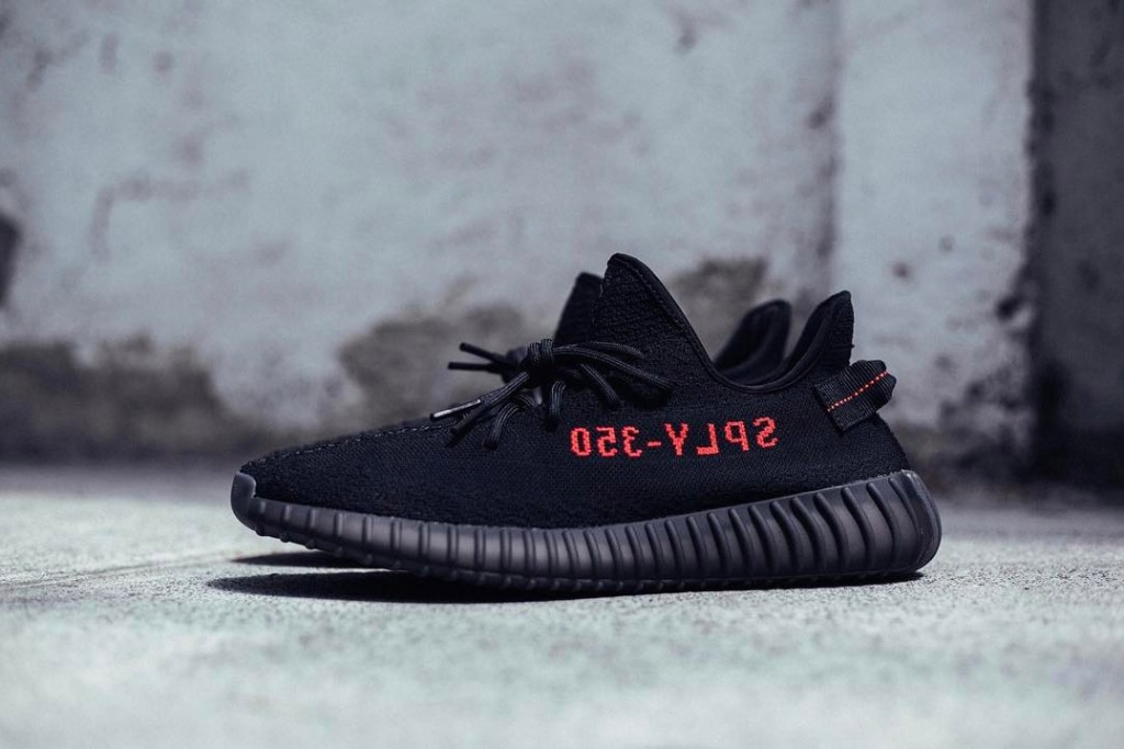 Adidas Yeezy Boost 350 V2 Black Red Sneaker Releases Dead Stock