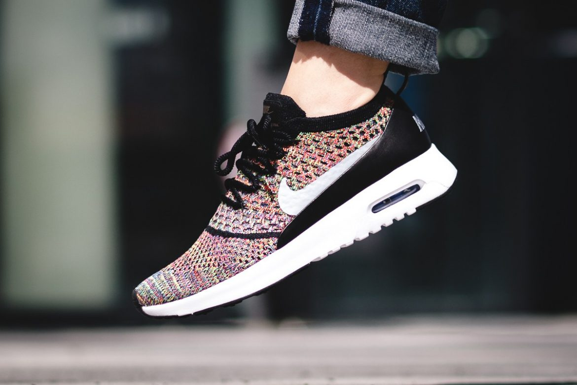 Nike Multicolor Flyknit Air Max Thea Sneakers