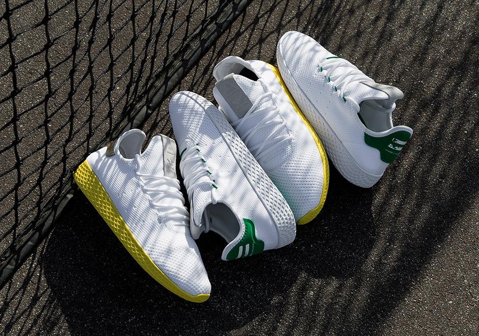 adidas pharrell williams tennis hu gelb