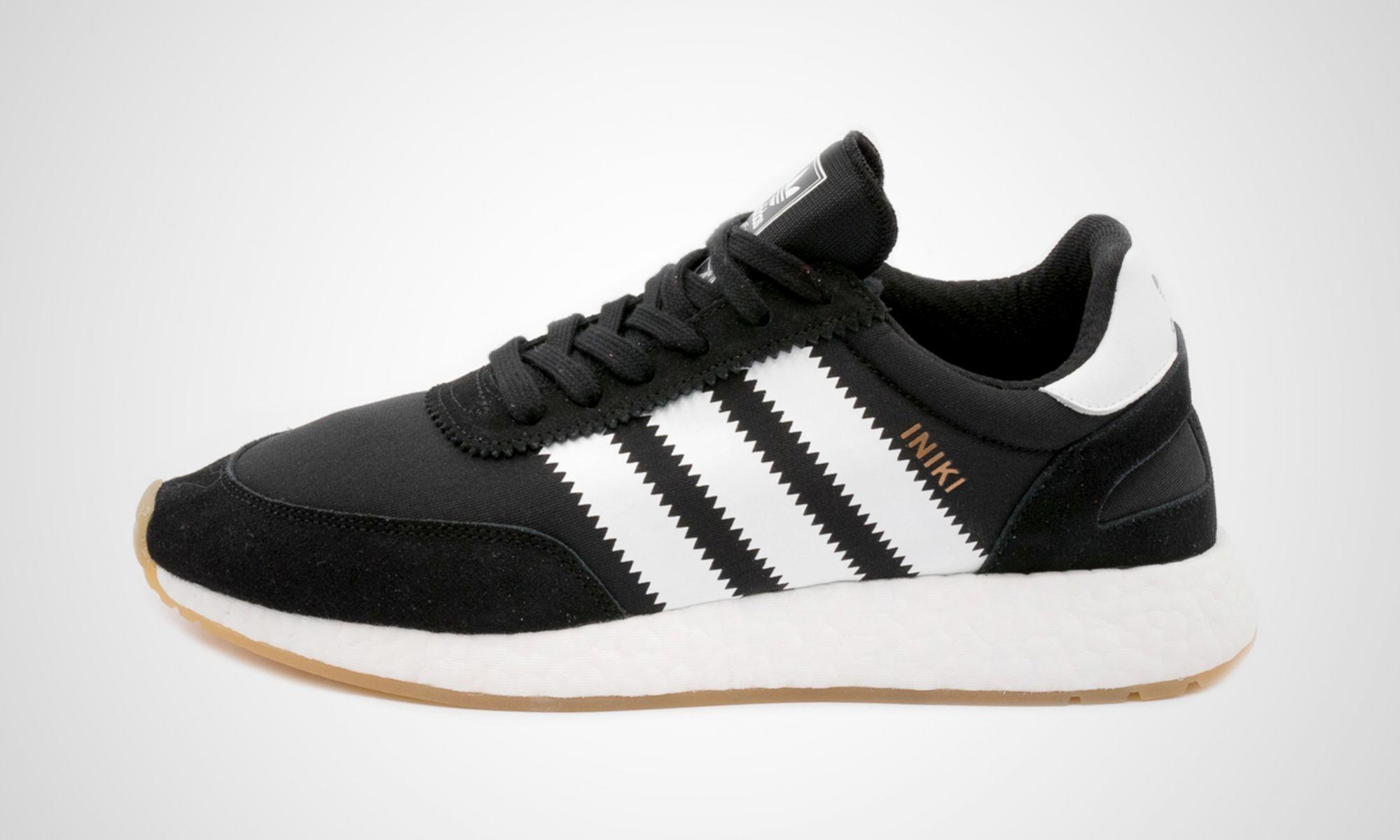 adidas iniki black gum dead stock sneakerblog