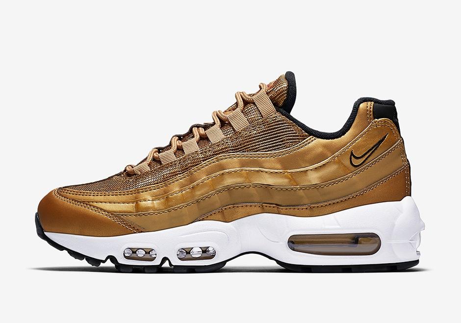 Nike Air Max 95 Metallic Gold | Alle Release Infos | Dead Stock