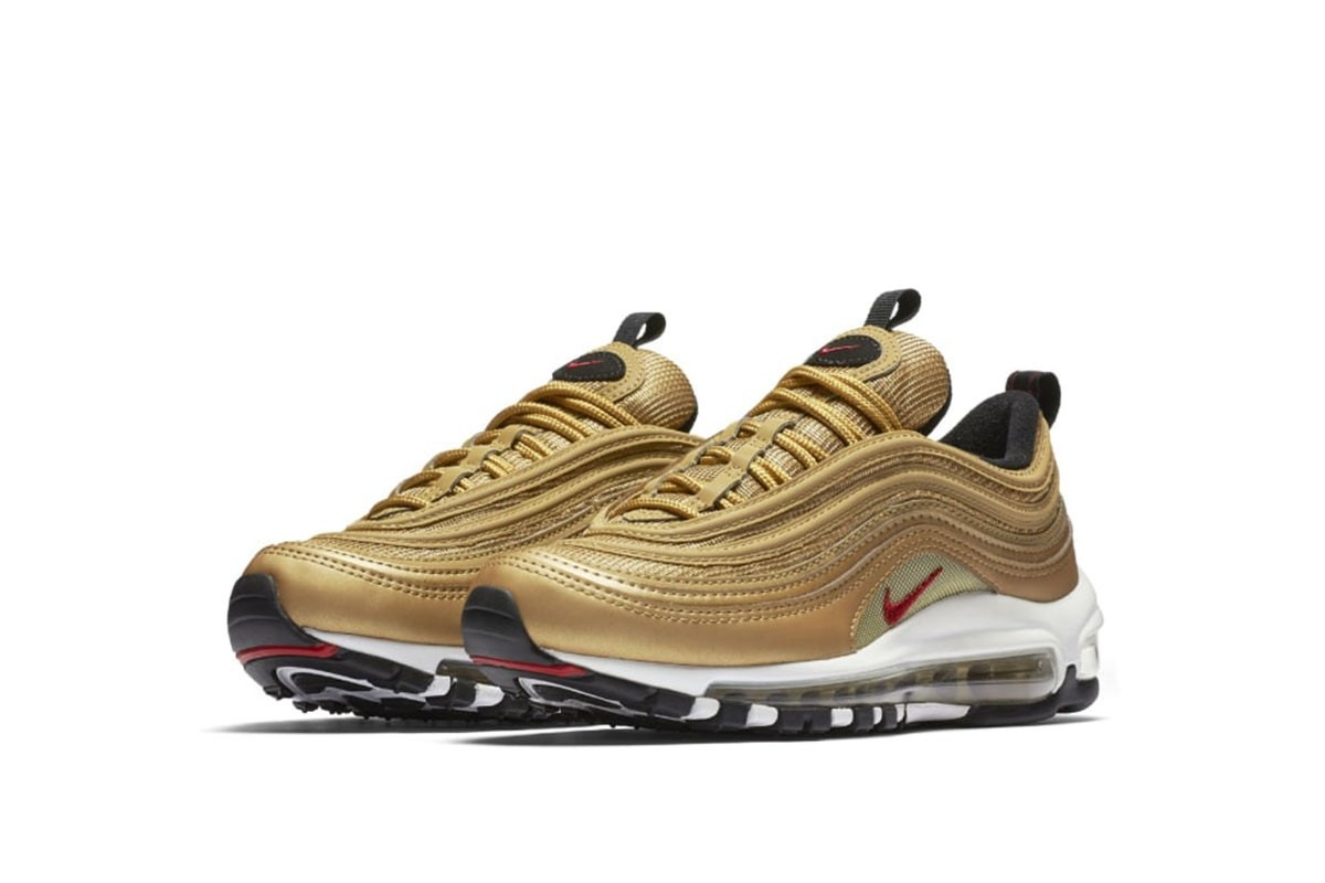 Nike Air Max 97 Metallic Gold GS | Alle Release-Infos | Dead ...