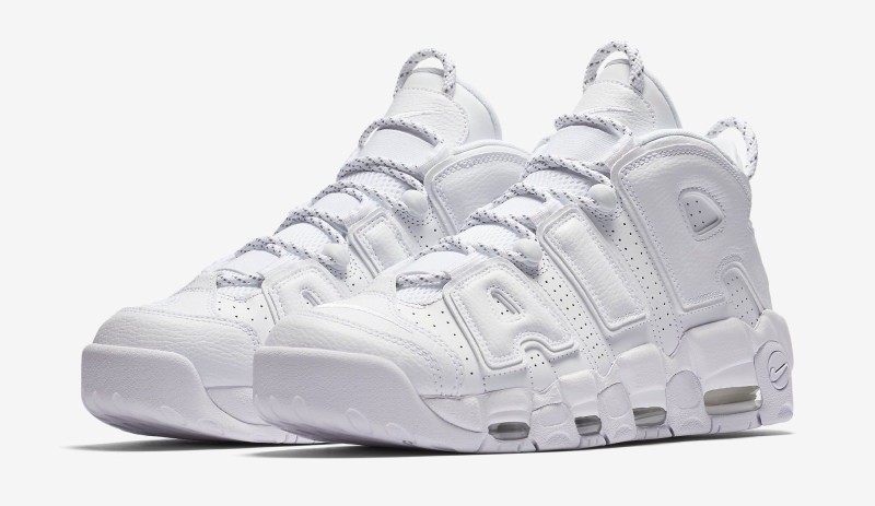 Nike Air More Uptempo Triple White coming soon | Dead