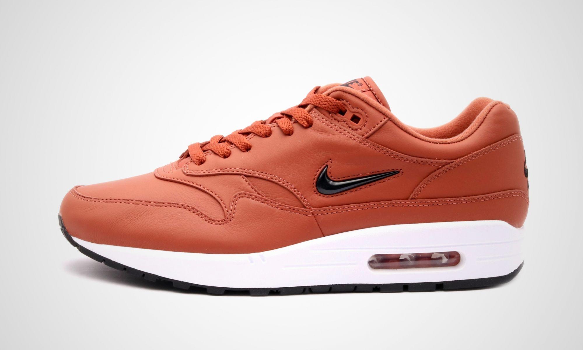 Air Max 1 Premium SC Jewel 'Dusty Peach' Nike 918354 200