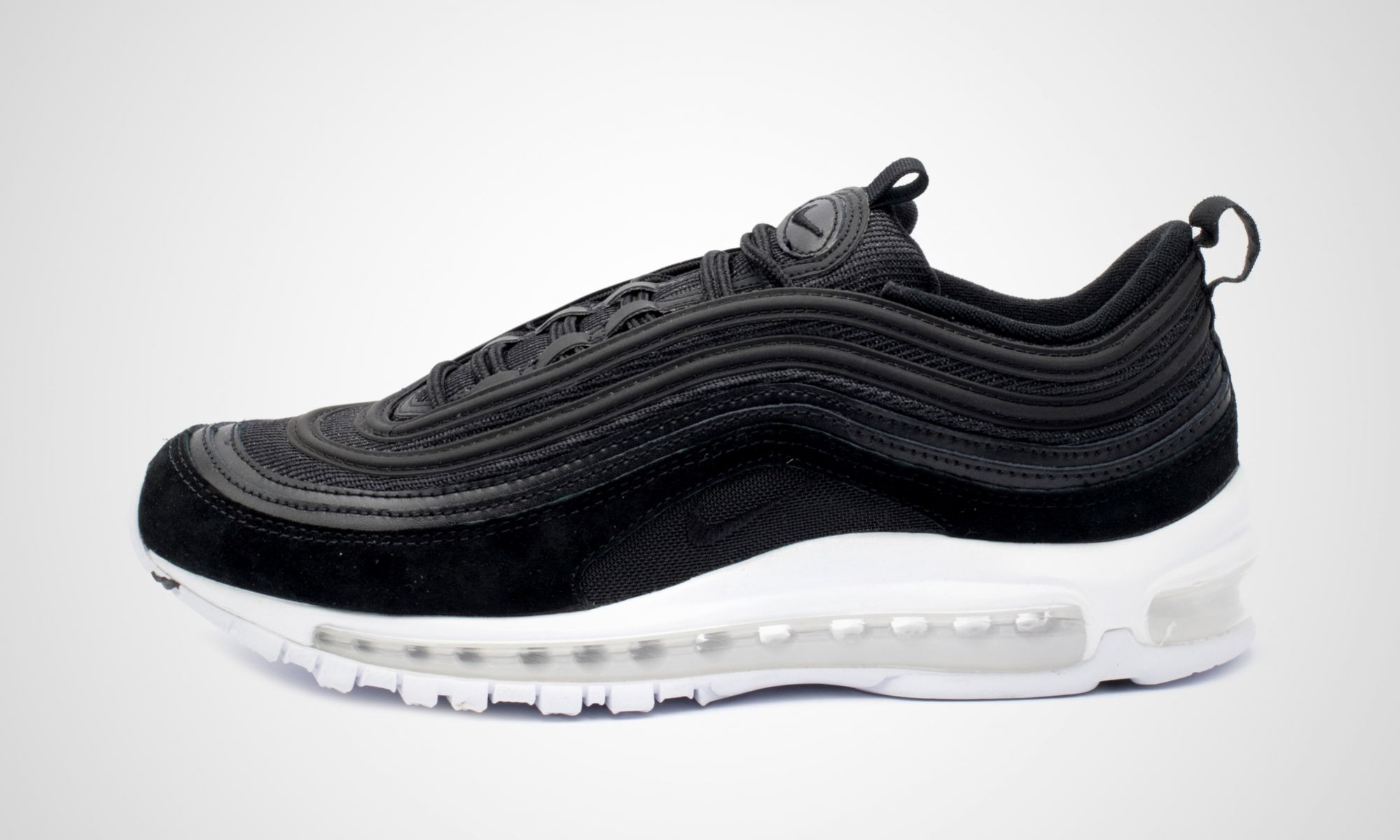 nike air max 97 black dead stock sneakerblog. Black Bedroom Furniture Sets. Home Design Ideas