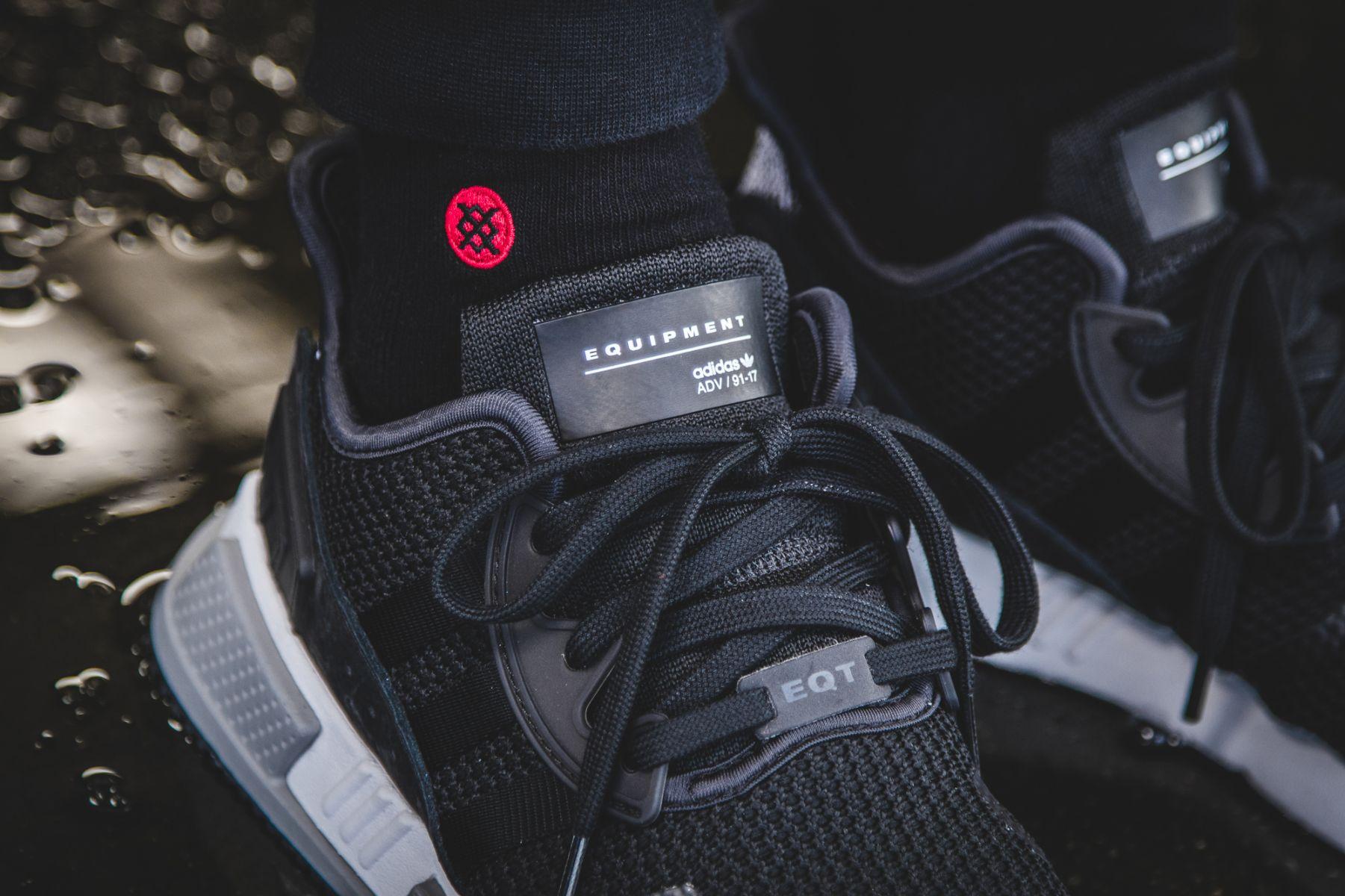 20ae454f2c8 adidas EQT Cushion ADV Black | Dead Stock Sneakerblog