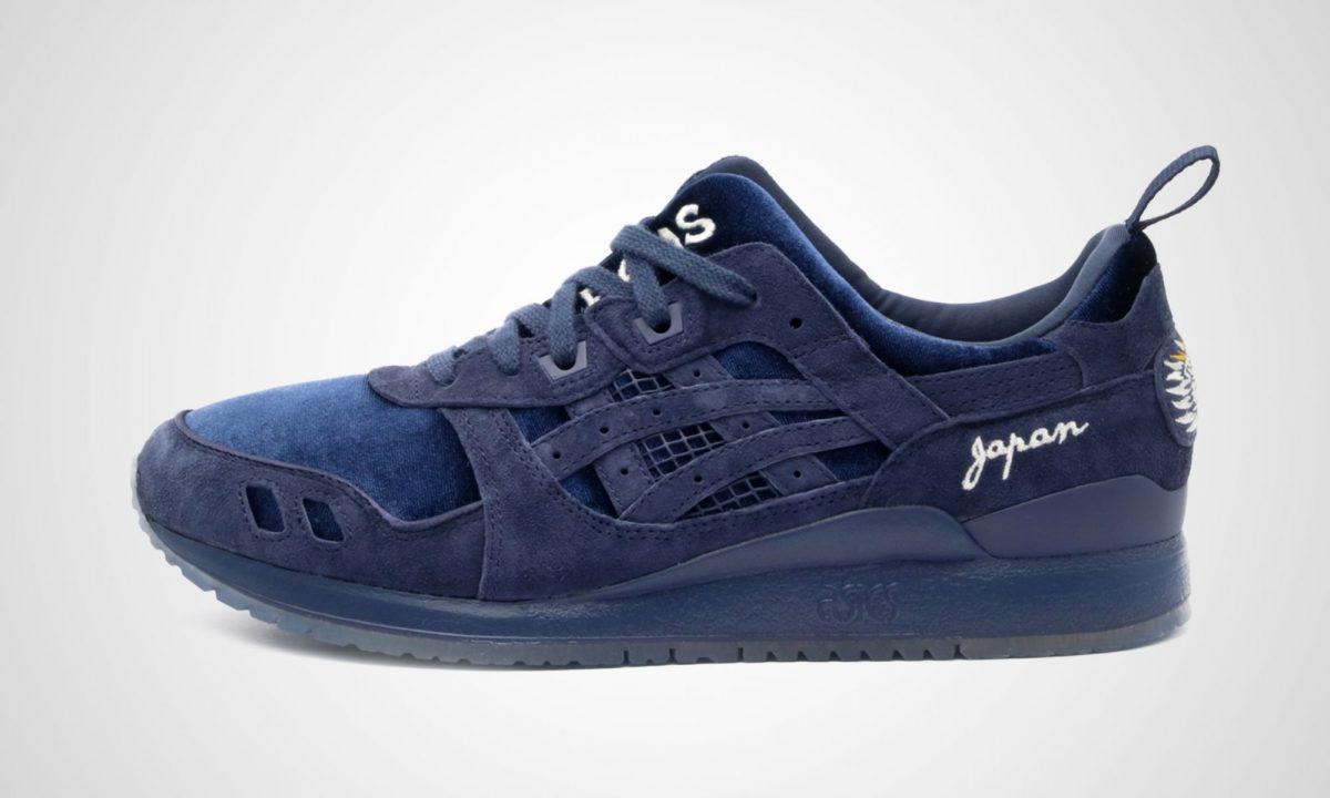 design de qualité c0f1d 6477e Asics x mita sneakers x BEAMS Gel-Lyte III Souvenir Jacket ...