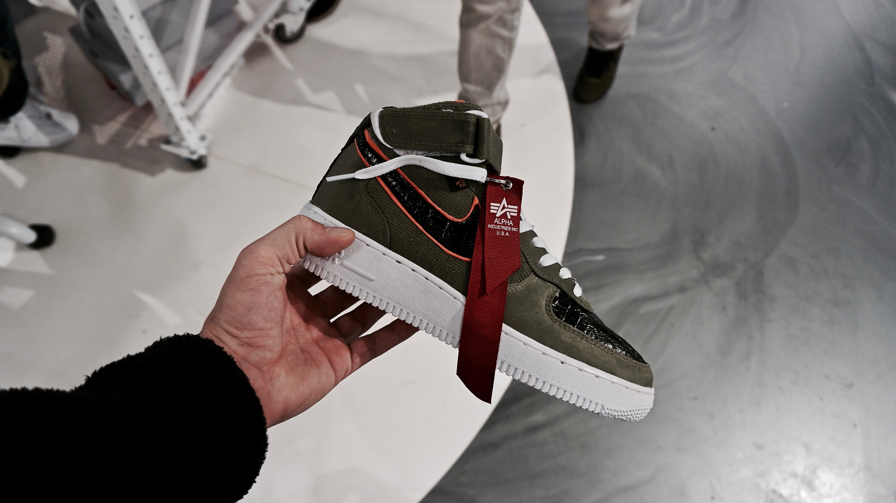 Snipes x Nike Air Force 1 Customization Lab RECAP | Dead Stock