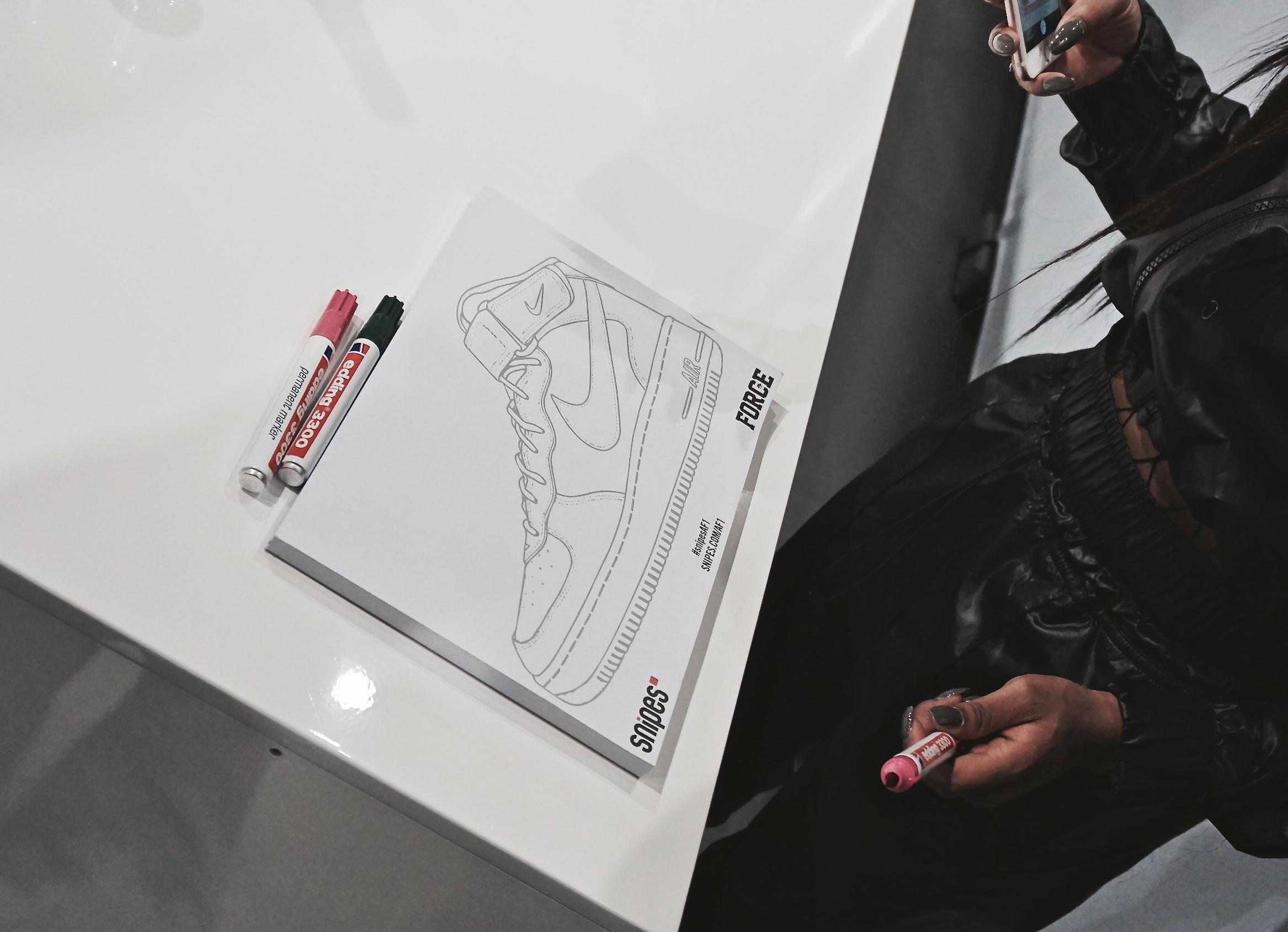 Snipes x Nike Air Force 1 Customization Lab RECAP | Dead Stock