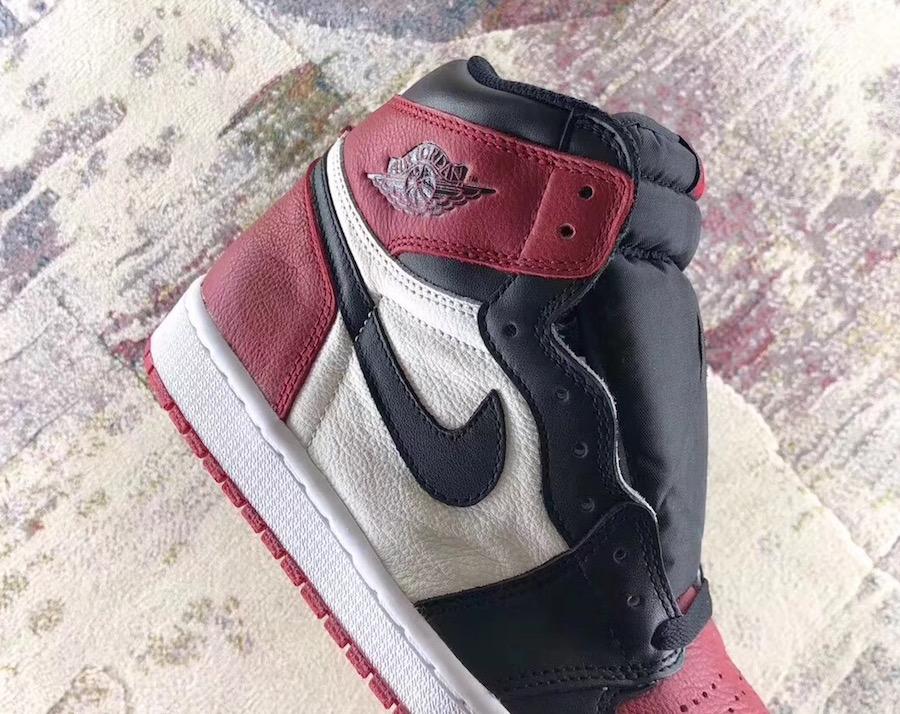 e73c54b6cda Nike Air Jordan 1 Bred Toe