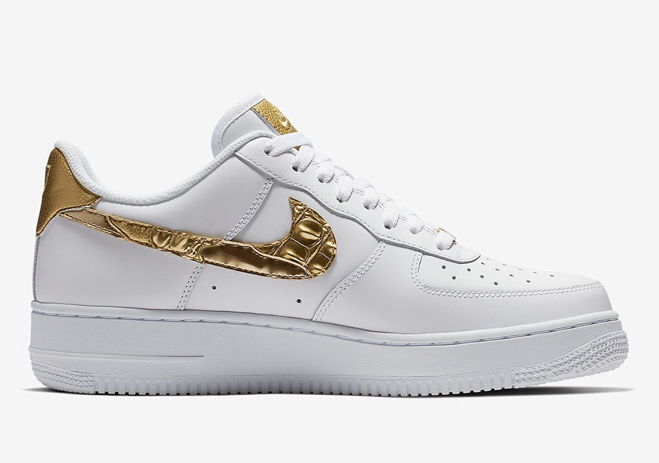 Nike Air Force 1 CR7 Golden Patchwork | Alle Release Infos
