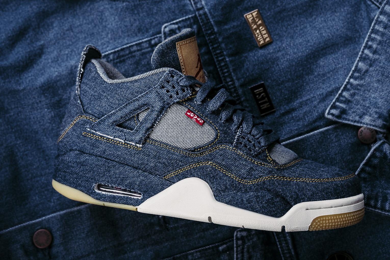 Nike Air Jordan 4 x Le...