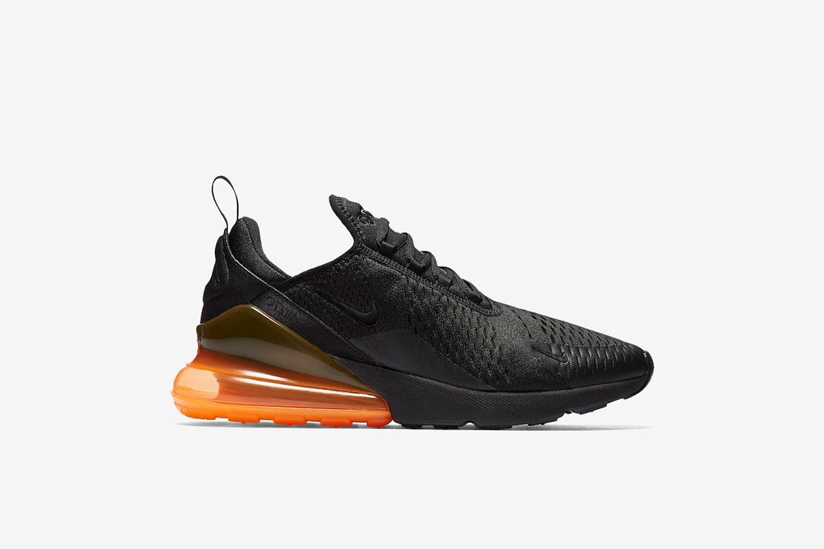 Nike Air Max 270 Black Total Orange StockX News