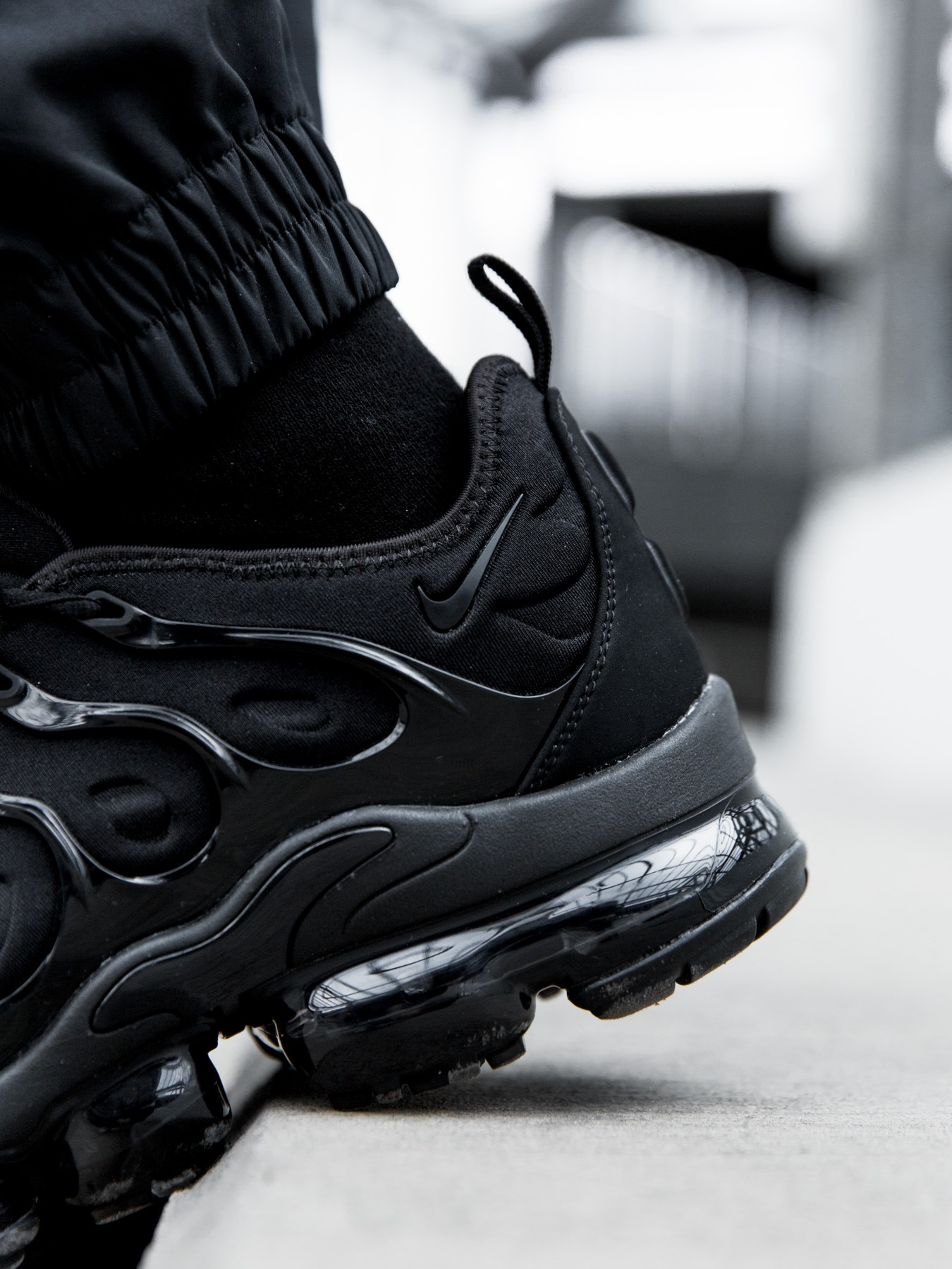 outlet store ad638 aad0f Nike Air VaporMax Plus Triple Black