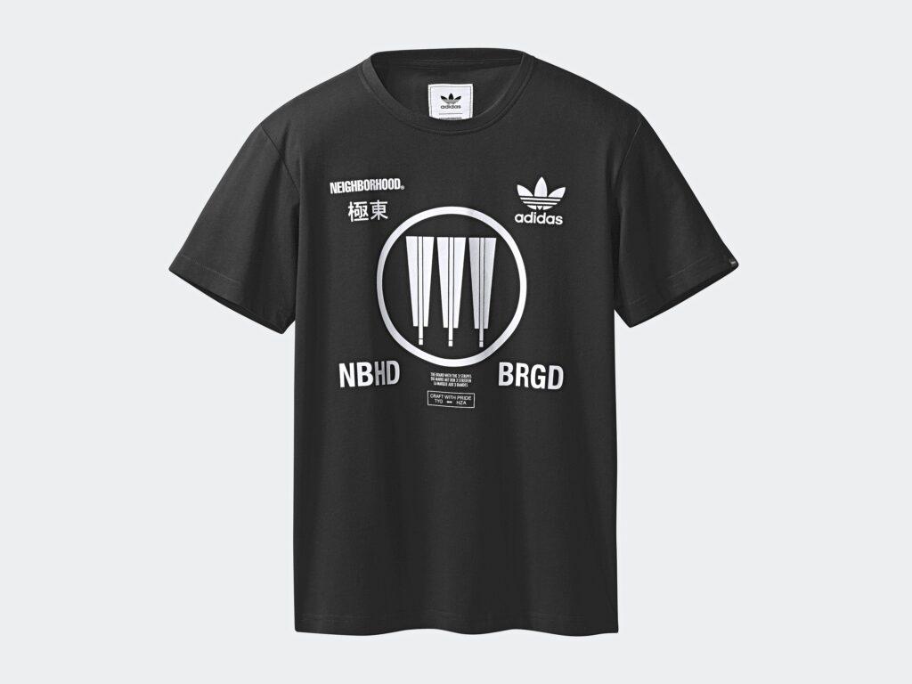 adidas originals x neighborhood graphic t shirt